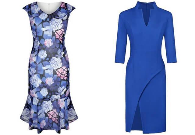 Sukienki dla puszystych ciekawe wzory