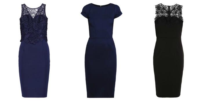 Kolaż sukienek mini