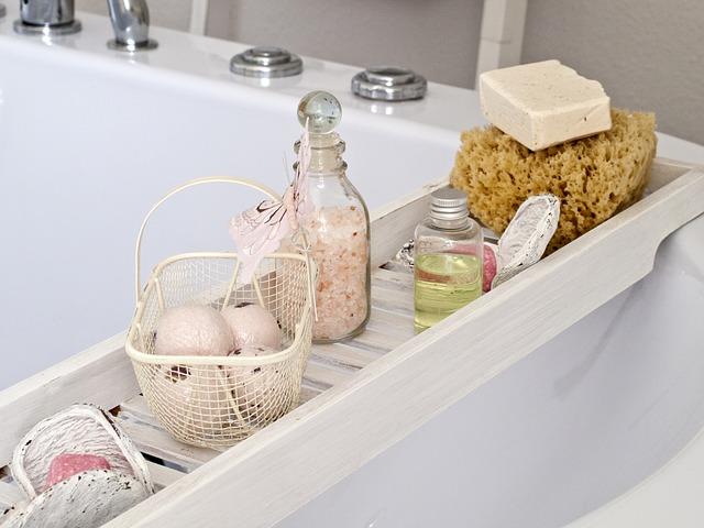 Akcesoria łazienkowe do kąpieli