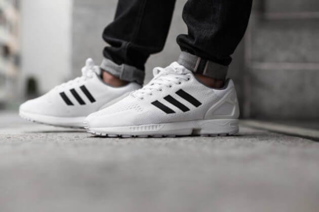 Adidas ZX Flux, przykład profesjonalnych butów, które zawitały do codziennych stylizacji