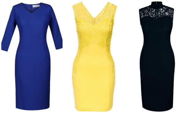Dopasowane sukienki ołówkowe